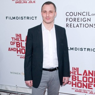 Milos Timotijevic in Premiere of In the Land of Blood and Honey - Arrivals