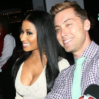 Nicki Minaj, Lance Bass in The Other Woman Los Angeles Premiere
