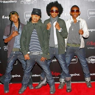 Mindless Behavior in House of Hype VMA 2010 Hospitality and Ultra Lounge