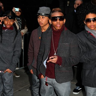 Mindless Behavior in Celebrities Outside ABC Studios for Good Morning America