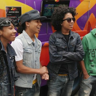 Mindless Behavior in Mindless Behavior Kicks Off SWRV TV's Summer ICE Cream Tour at Music Choice