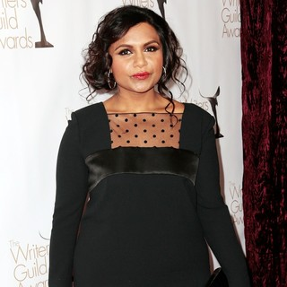 Mindy Kaling in 2013 Writers Guild Awards - Arrivals - mindy-kaling-2013-writers-guild-awards-02