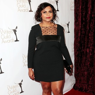 Mindy Kaling in 2013 Writers Guild Awards - Arrivals - mindy-kaling-2013-writers-guild-awards-03