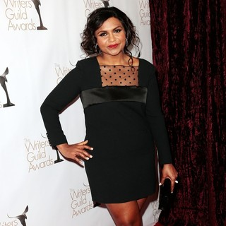 Mindy Kaling in 2013 Writers Guild Awards - Arrivals - mindy-kaling-2013-writers-guild-awards-04