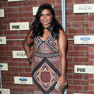 Mindy Kaling in FOX Fall Eco-Casino Party - mindy-kaling-fox-fall-eco-casino-party-03