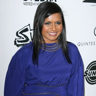 Mindy Kaling in Los Angeles Premiere of Super