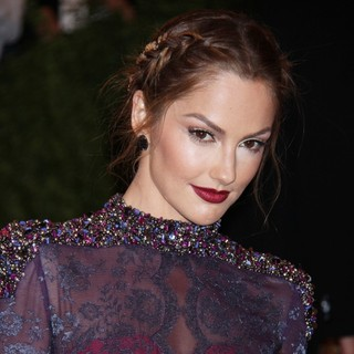 Minka Kelly in PUNK: Chaos to Couture Costume Institute Gala