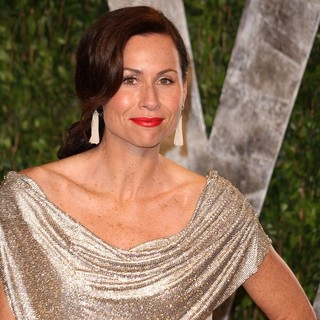 Minnie Driver in 2012 Vanity Fair Oscar Party - Arrivals