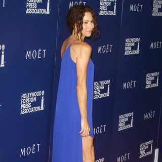 Minnie Driver in The Hollywood Foreign Press Association's Grants Banquet
