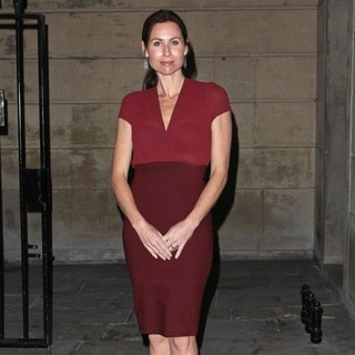 Minnie Driver in Stella McCartney Winter 2012 London Eveningwear Presentation and Dinner
