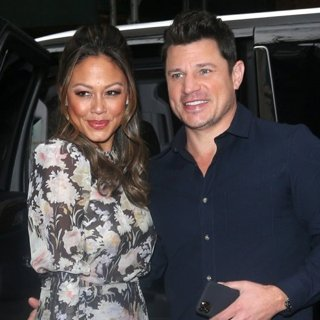 Nick Lachey and Vanessa Lachey at Today Show