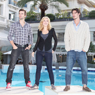 Lucas Bryant, Emily Rose, Eric Balfour in 2010 MIPCOM - 'Haven' - Photocall