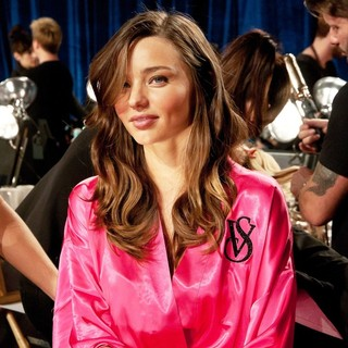 Miranda Kerr in 2011 Victoria's Secret Fashion Show - Backstage