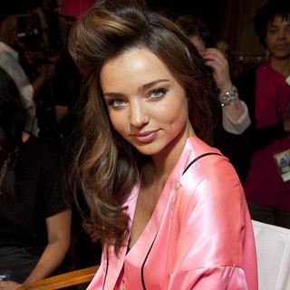 Miranda Kerr in 2012 Victoria's Secret Fashion Show - Backstage