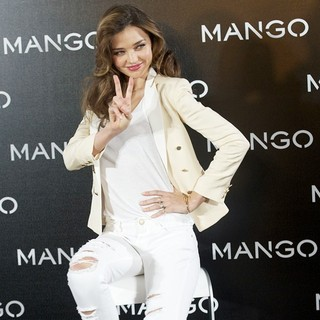 Miranda Kerr in Miranda Kerr As The New Face of Mango