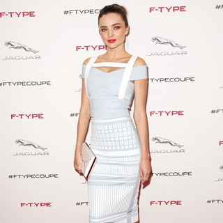 Miranda Kerr in The Jaguar F-TYPE Coupe Launch Party and Reveal