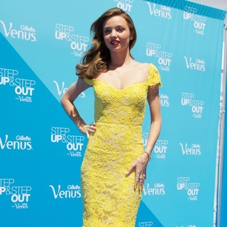 Miranda Kerr in Miranda Kerr Kicks Off The Gillette Venus Step Up and Step Out Tour
