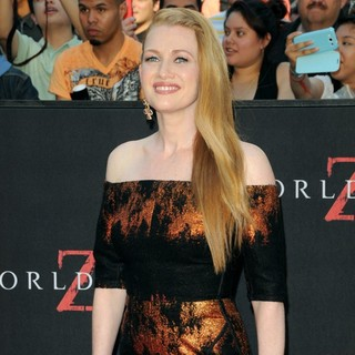 Mireille Enos in New York Premiere of World War Z - Arrivals