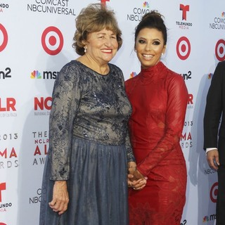 Ella Eva Mireles, Eva Longoria in The 2013 NCLR ALMA Awards