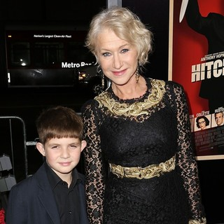 Felix Mirren, Helen Mirren in The Premiere of Fox Searchlight Pictures' Hitchcock - Arrivals