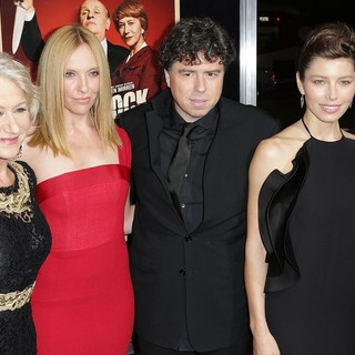 Helen Mirren, Toni Collette, Sacha Gervasi, Jessica Biel, Steve Gilula in The Premiere of Fox Searchlight Pictures' Hitchcock - Arrivals