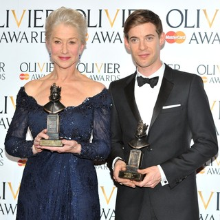 The Olivier Awards 2013 - Press Room