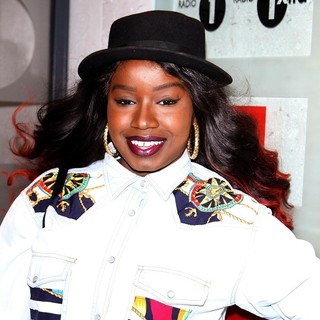 Misha B Arrives at The BBC Radio 1 Studios