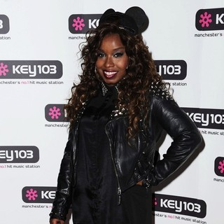Misha B in Manchester Christmas Lights Switch-on