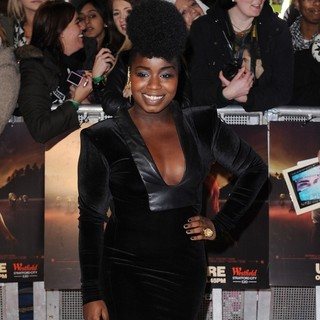 Misha Bryan in The Twilight Saga's Breaking Dawn Part I UK Film Premiere - Arrivals