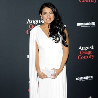 Misty Upham in The Weinstein Company Presents The LA Premiere of August: Osage County