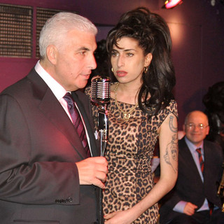 Mitch Winehouse, Amy Winehouse in The Grand Opening of City Burlesque in Farringdon
