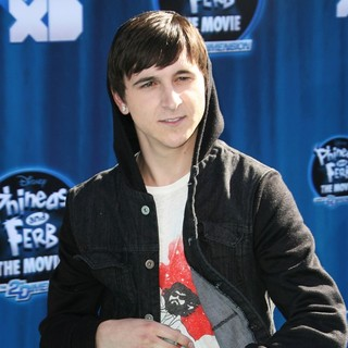 Mitchel Musso in Hollywood Premiere of The Disney Channel Original Movie Phineas and Ferb Across the Second Dimension
