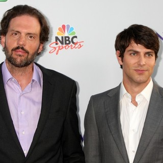 Silas Weir Mitchell, David Giuntoli in The NBC TCA Summer 2011 All Star Party