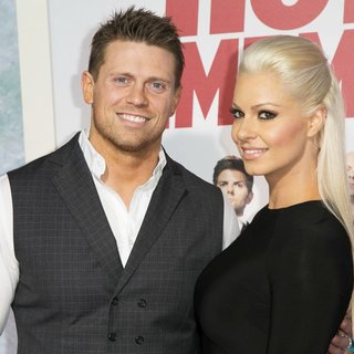 The Miz, Maryse Ouellet in Los Angeles Premiere of Hot Tub Time Machine 2 - Red Carpet Arrivals