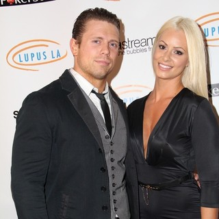 The Miz, Maryse Ouellet in Get Lucky for Lupus LA! Event - Arrivals