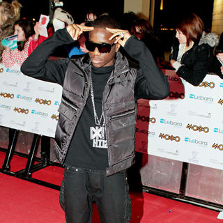 Tinchy Stryder in MOBO Awards 2010