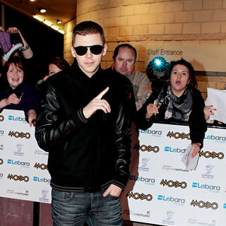Professor Green in MOBO Awards 2010
