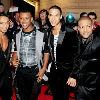 JLS in MOBO Awards 2010