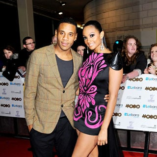 Reggie Yates, Alesha Dixon in MOBO Awards 2010