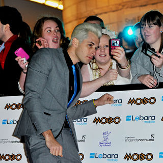 Mark Ronson in MOBO Awards 2010