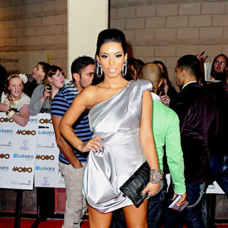 Chantelle Tagoe in MOBO Awards 2010