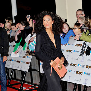 Corinne Bailey Rae in MOBO Awards 2010