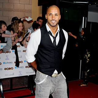 Ricky Whittle in MOBO Awards 2010
