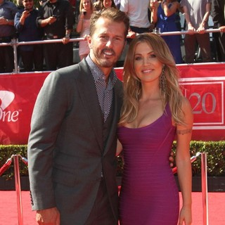 Mike Modano, Willa Ford in 2012 ESPY Awards - Red Carpet Arrivals