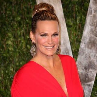 Molly Sims in 2012 Vanity Fair Oscar Party - Arrivals