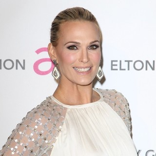 Molly Sims in 21st Annual Elton John AIDS Foundation's Oscar Viewing Party