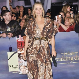 Molly Sims in The Premiere of The Twilight Saga's Breaking Dawn Part II