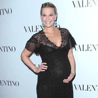 Molly Sims in The Valentino Rodeo Drive Flagship Store Opening - Arrivals