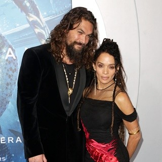 Jason Momoa, Lisa Bonet in Aquaman Film Premiere