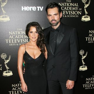 Kelly Monaco, Jason Thompson in The 41st Annual Daytime Emmy Awards - Arrivals